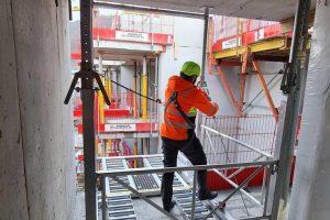 Montering av Liftroller Floor på nybygg