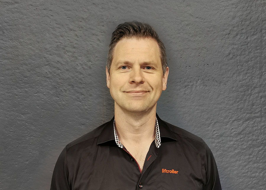 Christian Liebenberg Kunderådgiver Liftroller Rental AS