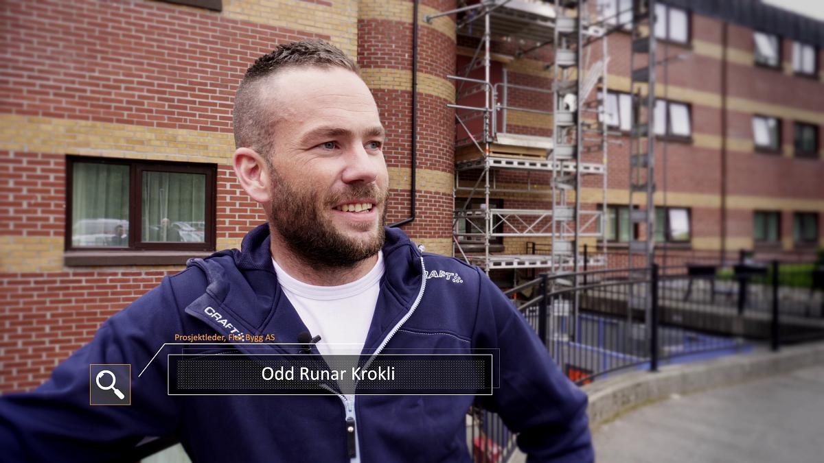Prosjekt leder Odd Runar Krokli, Flex Bygg AS