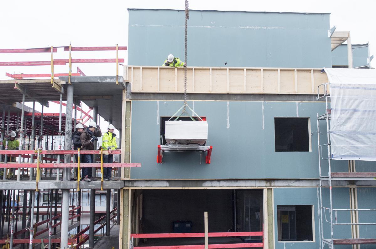 Liftroller i ferdig versjon har blant annet blitt testet grundig av Byggmester Markhus på deres boligprosjekt i Søreide i Bergen.
