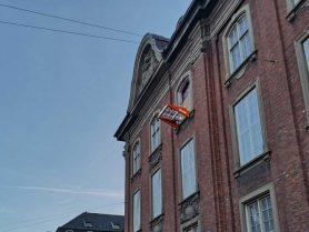 Liftroller Wall montert i vindu