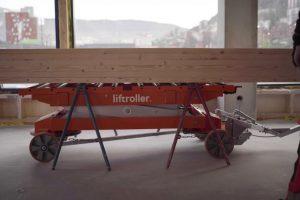 Byggmateriell på Liftroller Wagon